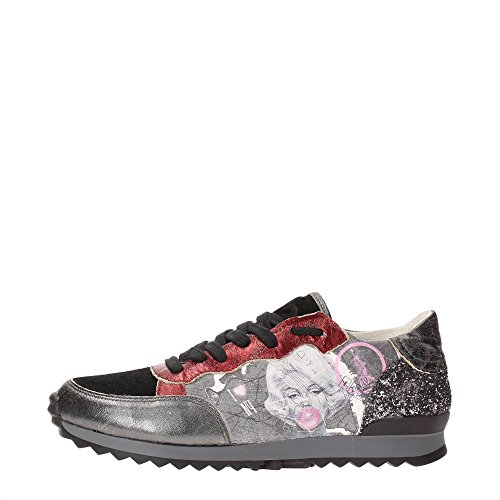 Y NOT - Scarpe donna SNEAKERS - Stampa New York Mappy (40)