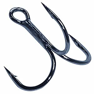 gamakatsu short shank treble hook fishing