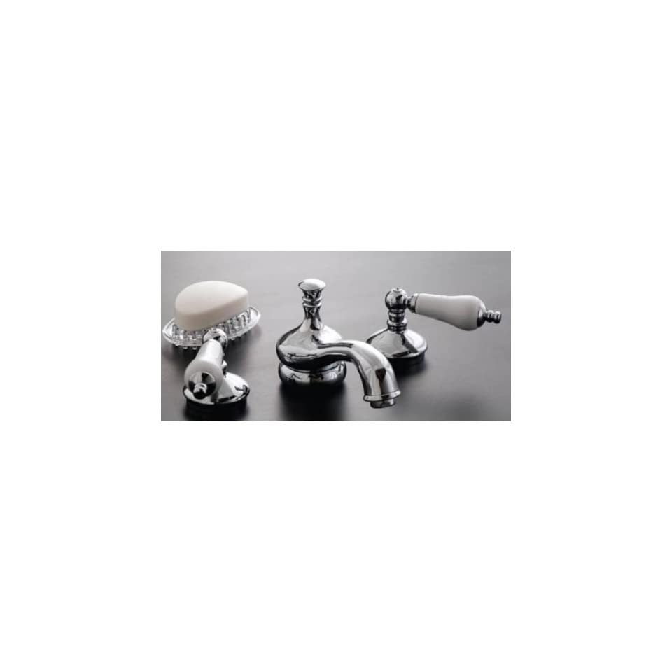 Sign of the Crab P0104C Chrome Widespread Lavatory Faucet
