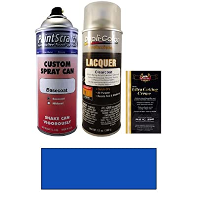 2013 nissan sentra daytona blue pearl metallic b17 touch up paint spray can kit Metallic spray paint colors