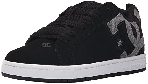 dc-court-graffik-se-black-grey-tweed-suede-mens-trainers-shoes-7