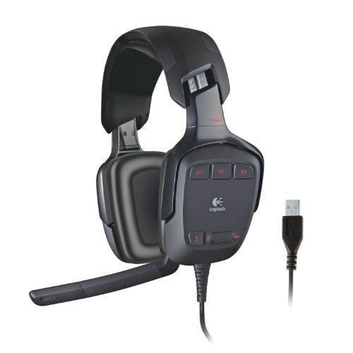 Logitech G35 7.1-Channel Surround Sound Headset - REFURBISHED