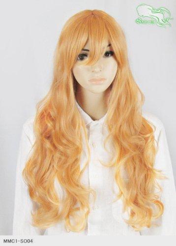 スキップウィッグ 魅せる シャープ 小顔に特化したコスプレアレンジウィッグ ドーリィミディ オレンジキャンディ