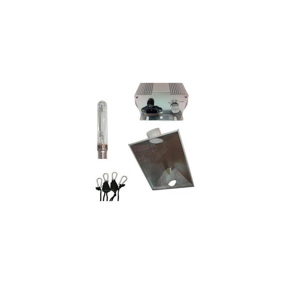400W Dimmable 6 XXXL Reflector HPS Grow Light Kit Triple X 400 Watt