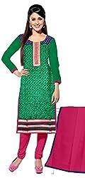 KNC Women Banarasi Embroidered Unstitched Dress Material Three Piece Salwar Kamiz