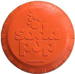 SodaPup Bottle Orange Squeeze Top Flyer, Large, Magnum Black