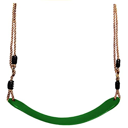 swing-seat-setsyz-green-rubber-swings-with-adjustable-nylon-rope-belt-for-kids-outdoor-play-in-grass