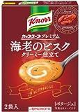 Knorr クノール カップスープ プレミアム 海老のビスククリーミー仕立て 2袋入