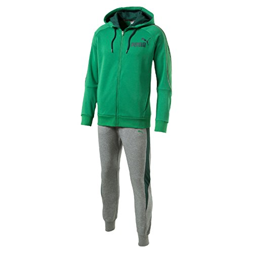 Puma Style Best Suit Sweat Tuta Sportiva - Verde (Amazon Green) - M