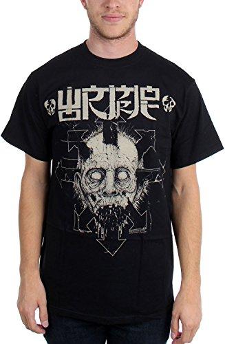 Wormrot -  T-shirt - Uomo nero Large