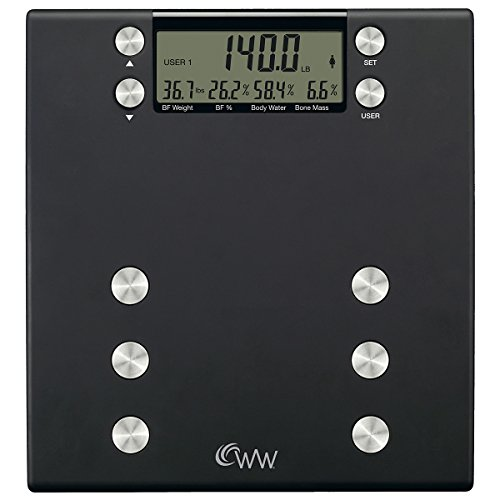 Weight Watchers Body Analysis Digital Precision Scale
