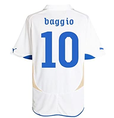 Puma BAGGIO #10 Italy Away Jersey WORLD CUP 2010 (M)