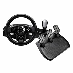 ThrustMaster Rally GT Force Feedback Clutch Edition - Wheel, pedals and gear shift lever set - 10 button(s)