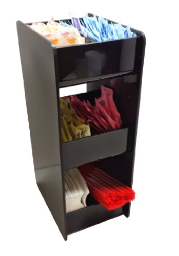 Small Square Condiment Rack With 3 Shelves (9003)
