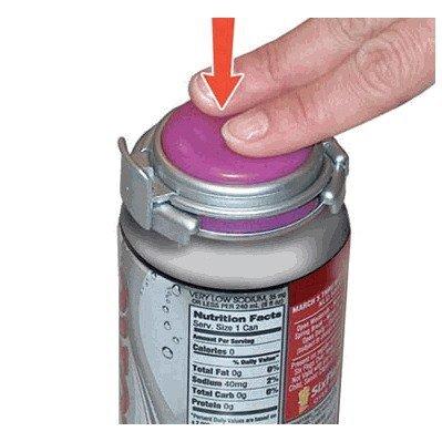 Jokari Soda Can Pump Fizz Carbonation Keeper Saver 2 piece set