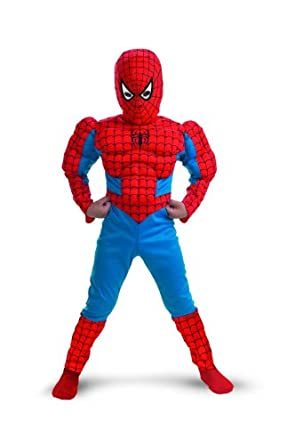 Low Price Spider-Man Muscle Kids Costume