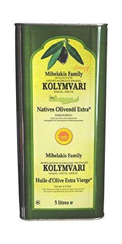 Michelakis Kolymvari g.U. Olivenöl extra nativ aus Kreta 5-Liter