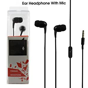Dashing Electronics Celkon Campus A42 Compatible In-Ear Headsets| Headphones | Earphones | Handsfree With Mic | Calling | Enjoy Music, 3.5mm Jack (Random Color)