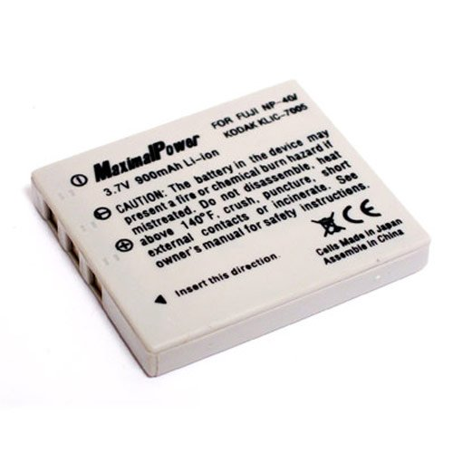 Maximalpower DB FUJ NP40 Rechargeable Li-Ion Battery for Fuji NP40,Kodak KLIC7005,Panasonic CGR-S004,Pentax D-Li8,D-Li85