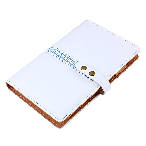 Shulaner Small Leather Loose-leaf Business Notebook Organizer Travel Diary Commercial Notepad 160 Page (Loose Leaf Personal Finance compare prices)