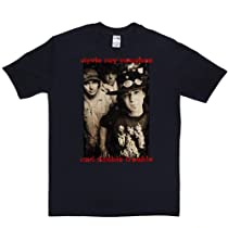 Stevie Ray Vaughan Double Trouble T-shirt (navy/colour 4x)