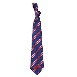 Buy Mississippi Rebels Collegiate Woven Polyester Necktie by Eagles Wings