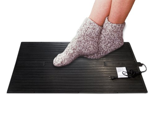 Cozy Products FW Foot Warmer Heated Foot Warming Mat Rubber Design (Floor Heater Pad compare prices)