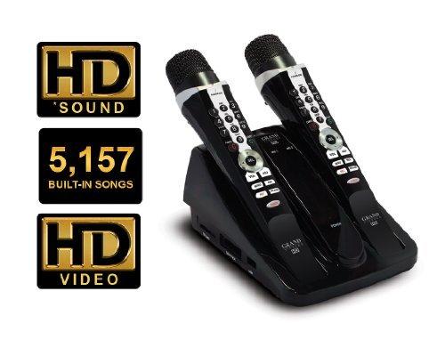 Grand Videoke Tkr371Mp (Hd Sound, 5157 Built-In Songs & Hd Video Backgrounds)