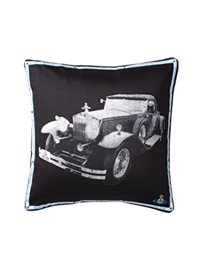 Vivian Westwood Car Scarf Pillow, Charcoal