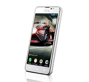 LG P875 Optimus F5 Smartphone (10,9 cm (4,3 Zoll) Touchscreen, 1,2GHz, Dual-Core, 1GB RAM, 8GB Speicher, 5 Megapixel Kamera, Android 4.1) weiß