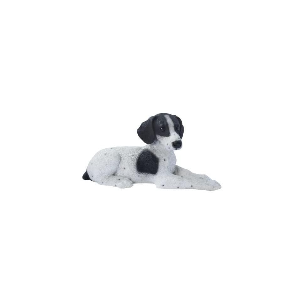 Pointer Puppy Dog Statue Sculpture Figurine