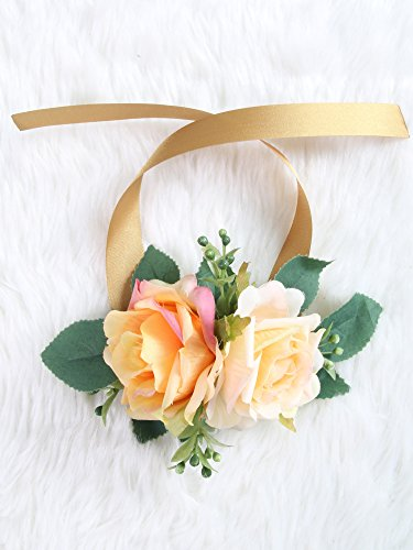 Wrist Corsage Rose Flower(Old rose)