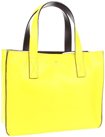 Kate Spade New York Brightspot Avenue-Grayce  Tote,Vivid Yellow,One Size