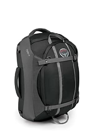 Osprey Porter 46 Travel Duffle, Charcoal Gray