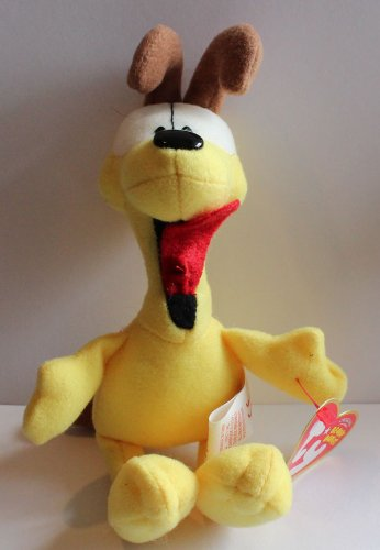 "Ty Beanie Babies Garfield Odie ""An Ode to Odie!"" 6.5in Plush Doll - 1"