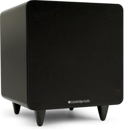 Cambridge Audio Minx X300 Subwoofer, High Gloss Black