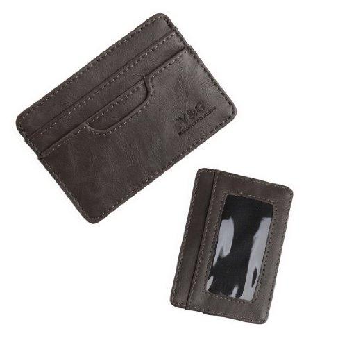 Ycm040105 Brown Fashion Magic Wallet 5 Card Holder Gift Idea For Boys By Y&G