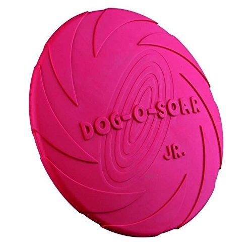Trixie gomma naturale per cani piatto, 18cm (vari colori)