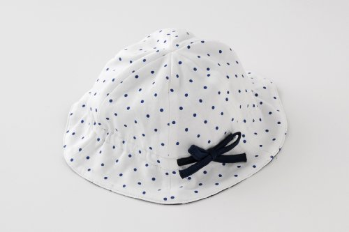 (チャックル) chuckle *ボンシュシュ*リボン付きマリン帽子【46-48cm】 ホワイト 46cm?48cm P9216-00-10