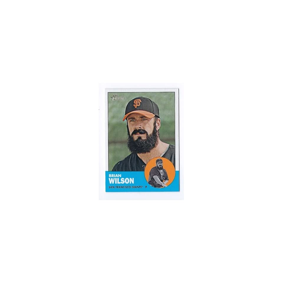 2012 Topps Heritage #325 Brian Wilson San Francisco Giants