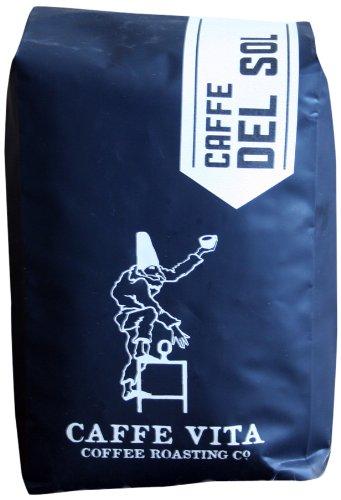 Caffe Vita Cafe Del Sol Whole Bean Coffee (Light-Medium), 12 oz (Vita D Sol compare prices)