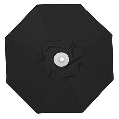 Galtech 9-ft. Aluminum Auto Tilt Patio Umbrella with Umbrella Lights
