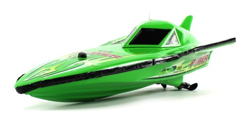 "Mini 12"" Ep-777 Electric Rc Speed Boat Power Racing Ready To Run Rtr, Dual Motor & Propeller Propulsion System (Colors May Vary)"