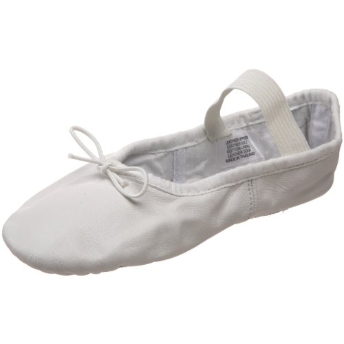 Bloch Dance Dansoft Ballet Slipper (Toddler/Little Kid),White,9.5 C Us Toddler front-485044
