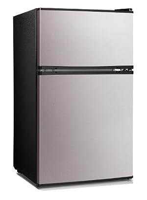Midea HD-113F Full-Size Double Reversible Door Refrigerator and Freezer