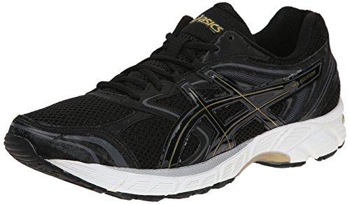 ASICS Men's Gel Equation 8 Running Shoe, Black/Gold/Castlerock, 11 M US (Pronation Shoes compare prices)