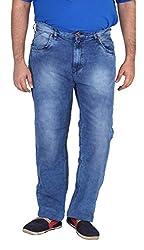 Xmex Men's Denim Jeans (Jd-1017M.Blue-48, Blue, 48)