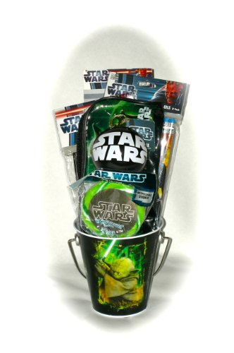 Star Wars Fun Filled Pail Gift Set Great As an Easter Basket, Holidays or Any Time