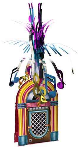 Jukebox Centerpiece Party Accessory (1 count) (1/Pkg) (Dancing Soda compare prices)