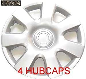 15″ SET OF 4 HUBCAPS 2002 TOYOTA CAMRY WHEEL COVERS DESIGN ARE UNIVERSAL HUB CAPS FIT MOST 15 INCH WHEELS